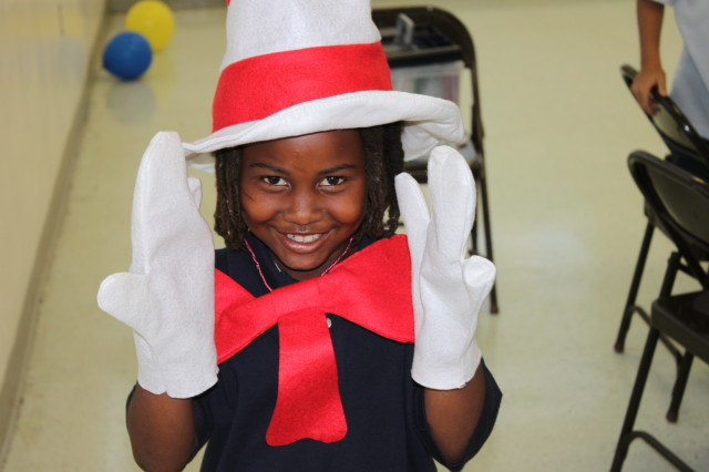 Dr. Suess Birthday Reading Celebration